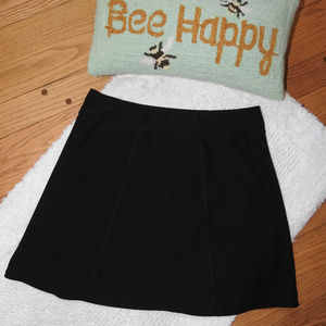 Lucy Black Skirt Large